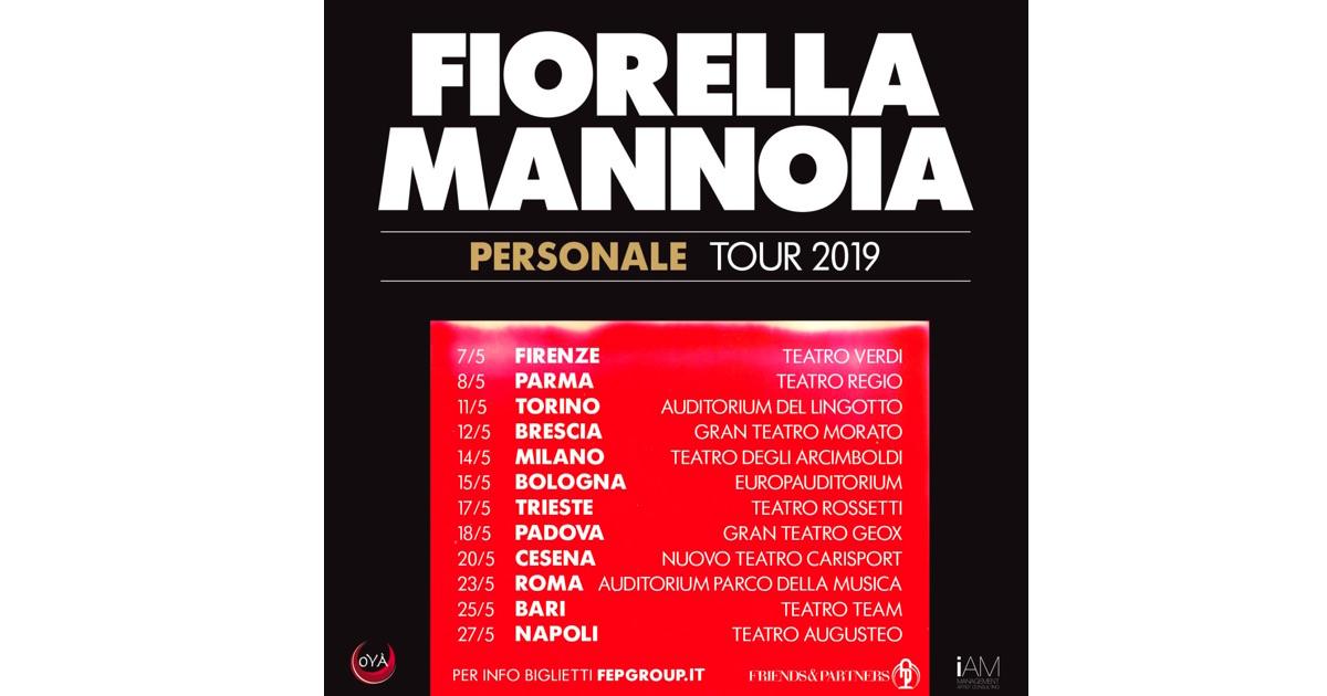 Camion pesante allineare squadra  Fiorella Mannoia - al via le prevendite del