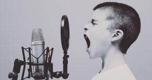 voice child radio wellness