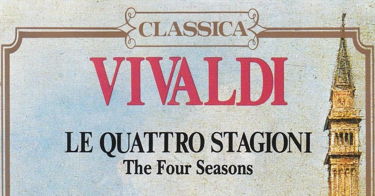 Locandina concerto di Antonio Vivaldi
