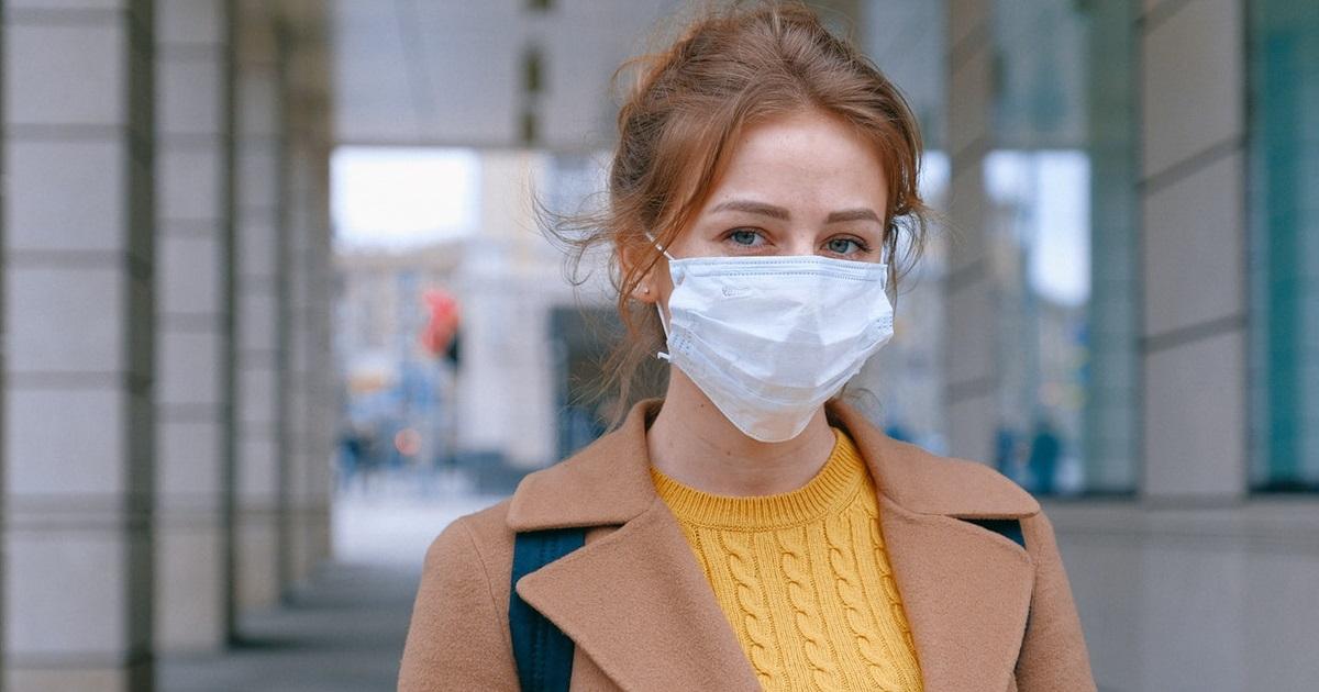 woman mask - radio wellness
