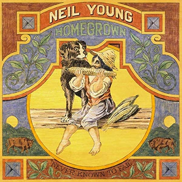 Copertina Homegrown di Neil Young