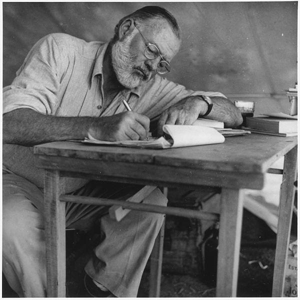 Ernest Hemingway in Kenya 1953