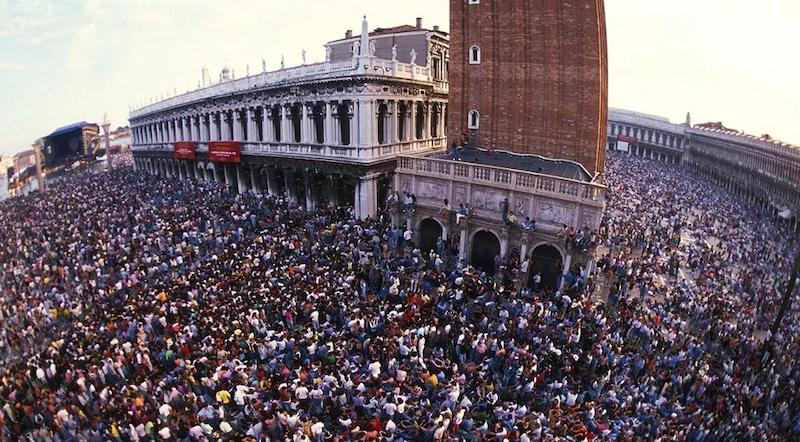 Pubblico piazza San Marco venezia