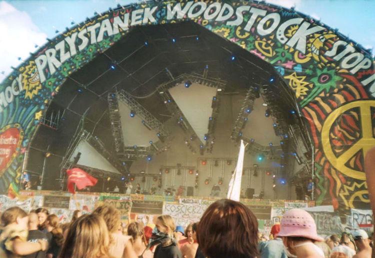Palco di Woodstock