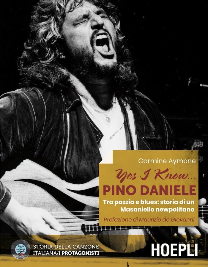 Copertina libro Yes I Know... Pino Daniele