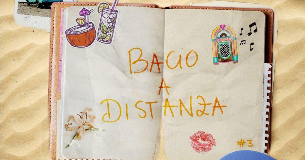 """Artwork - """"Bacio a distanza"""" di Giulia Penna."""