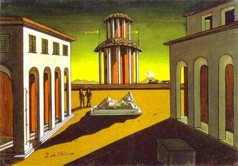 Giorgio De Chirico - enigma di un pomeriggio d'autunno