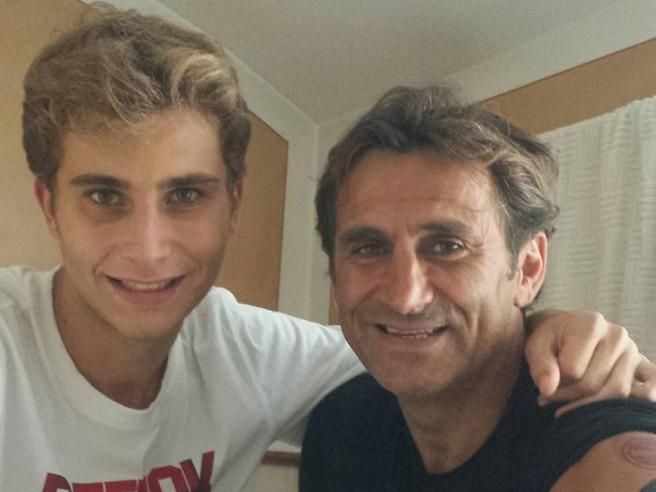 Niccolò Zanardi e Alex - Fonte immagine Il Corriere della Sera