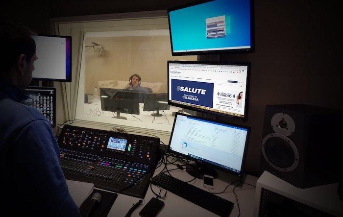 Studi di Radio Wellness - Padova