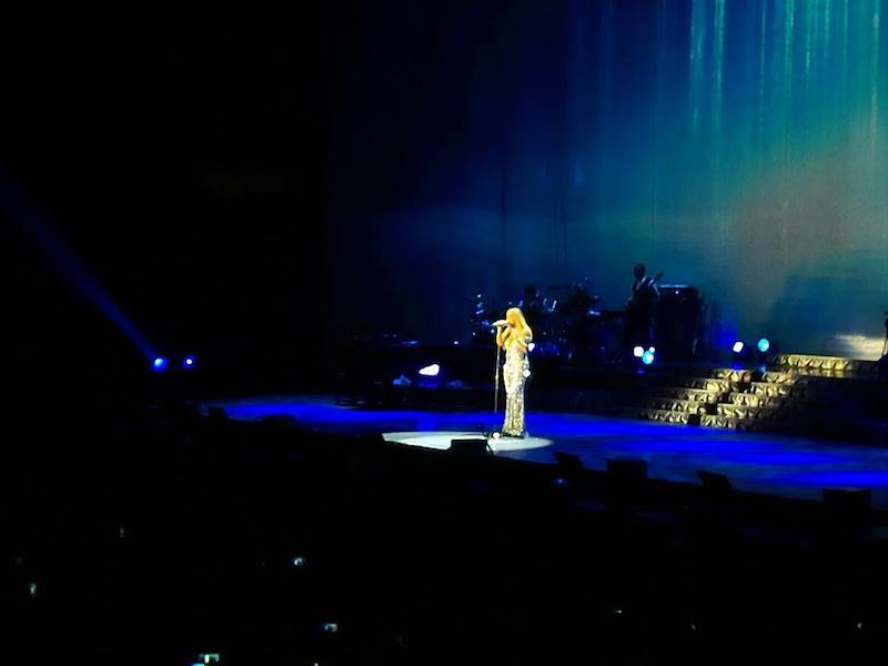 Forum di Assago - Milano concerto Mariah Carey 2015.