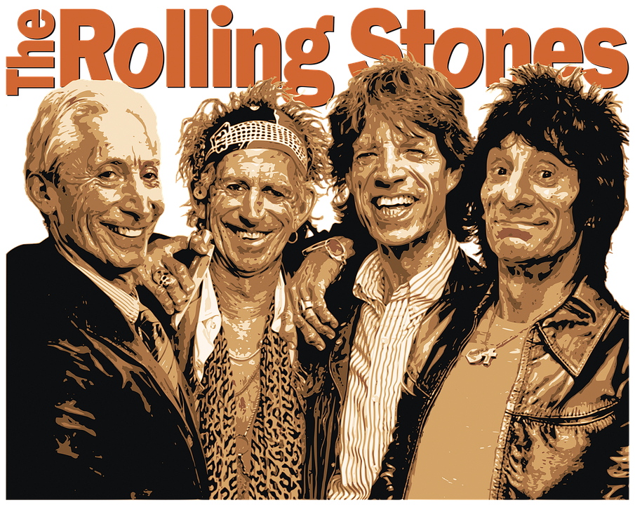 Rolling Stones - fonte immagine Pixabay