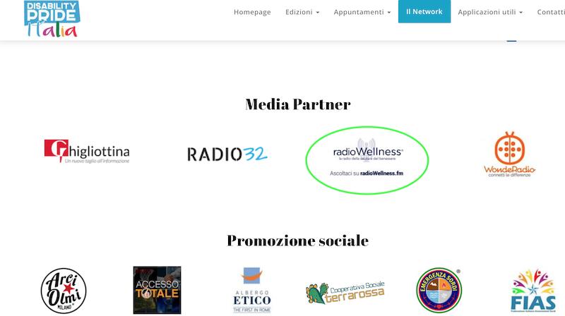 Elenco media partner disability pride.