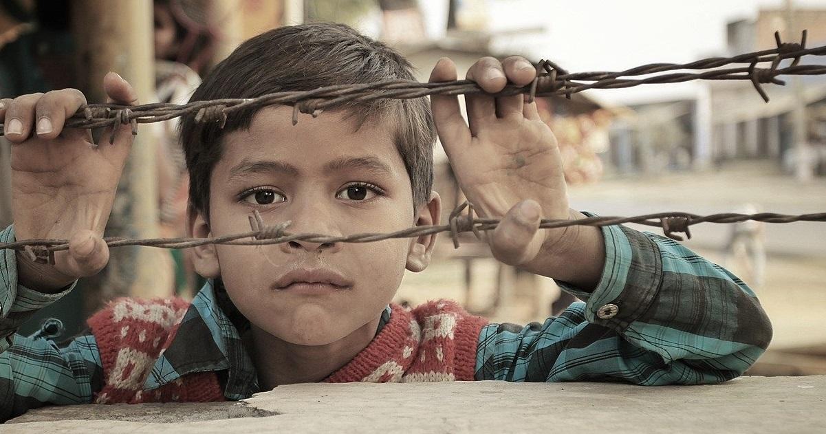 bambino in guerra