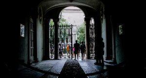 uno dei giardini di Ferrara