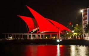 maldive in rosso per la giornata