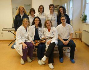 L'équipe dell'ambulatorio SOL DIESIS