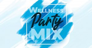 logo wellness party mix