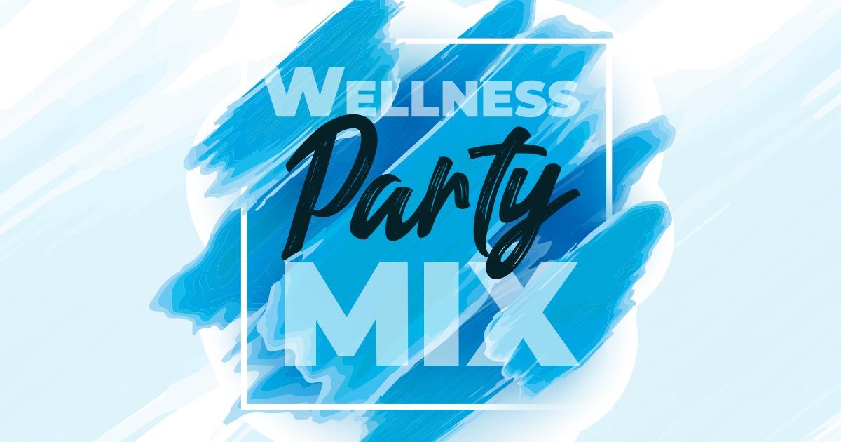 logo wellness party mix