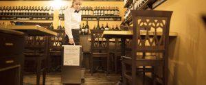 sanificare in ristorante