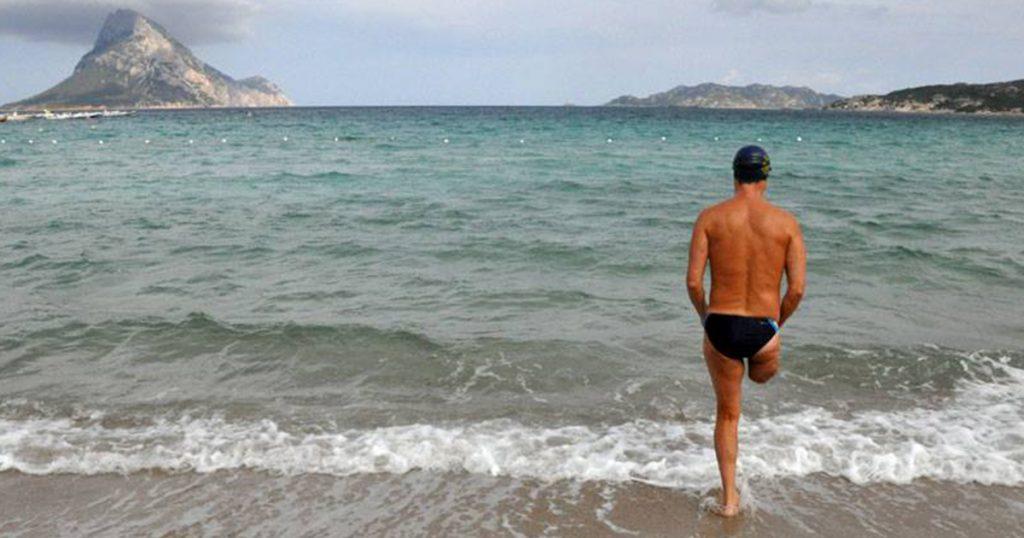 giro d'italia a nuoto