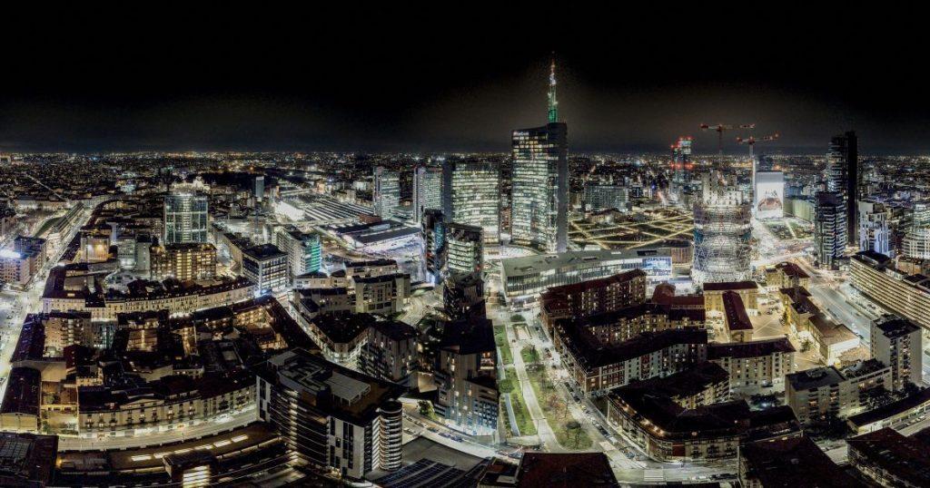 Elena Sisti: lo skyline di Milano