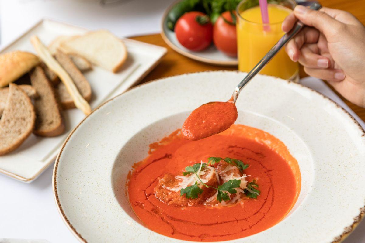 zuppe, i funghi alla borgognona